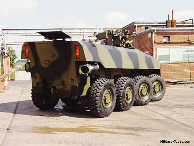 Prototype of Terrex AV81