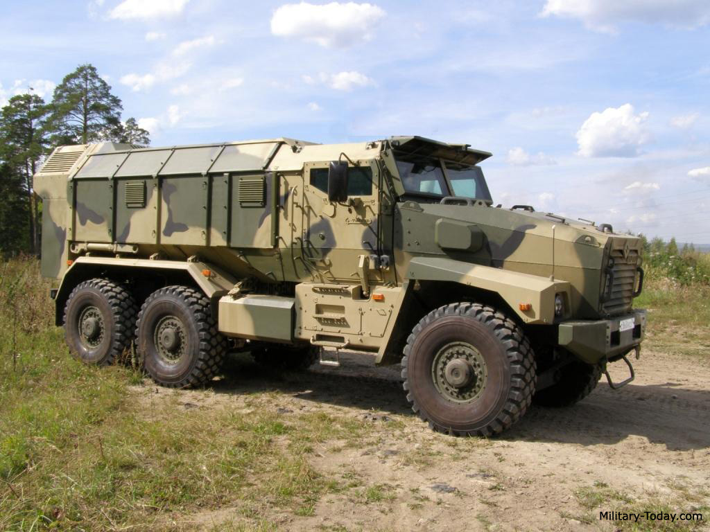 Armored Vehicles For Sale >> Ural Taifun Images