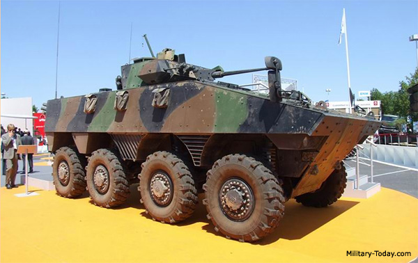 Top armoured fighting vehicles
