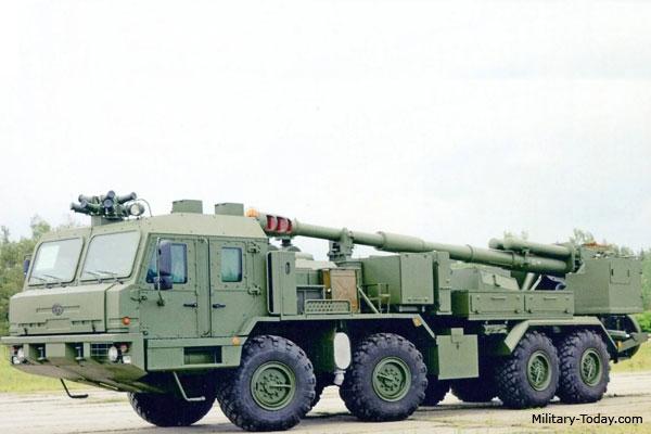 2S43 Malva artillery system