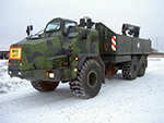 Archer ammunition resupply vehicle