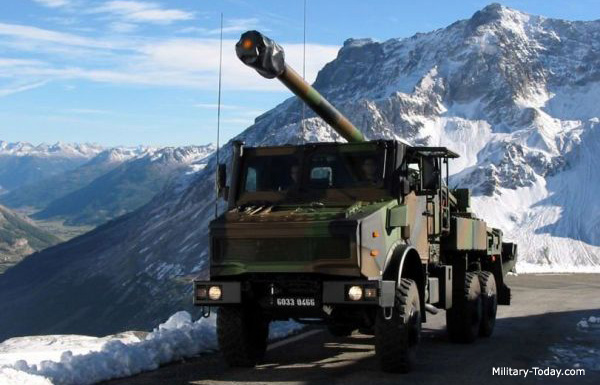 Best self-propelled howitzers