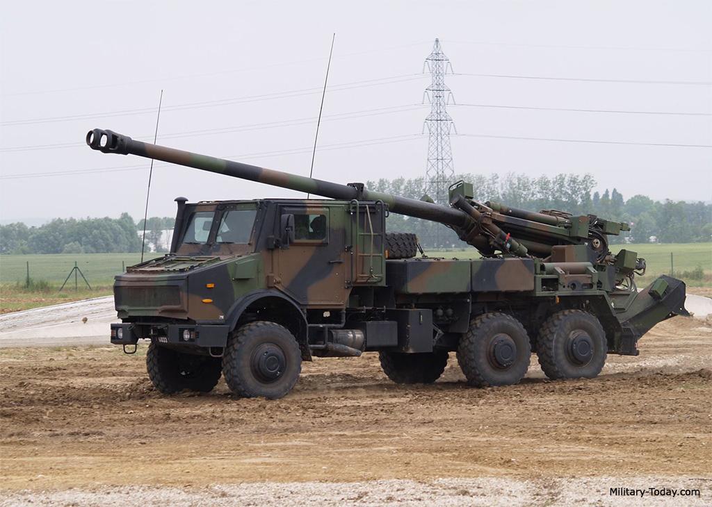 Obús autopropulsado 155mm Caesar (Francia)