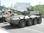 Centauro with a 120 mm gun
