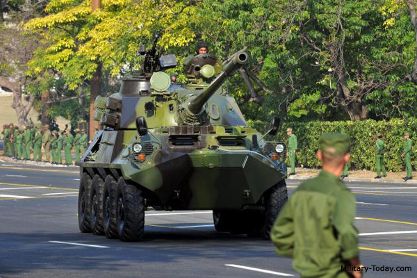 Cuban fire support vehicle