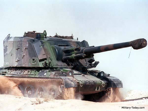 systèmes d'artilleries autotractés et autopropulsés F1_gct_l1