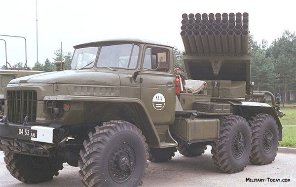 bm 21 grad multiple launch rocket system military. Black Bedroom Furniture Sets. Home Design Ideas