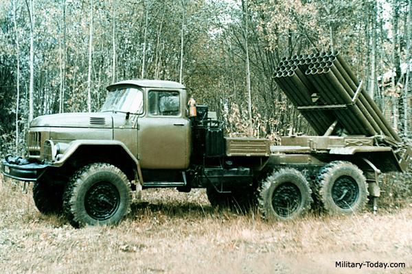 قاذفات الصواريخ الروسية ! Grad_1