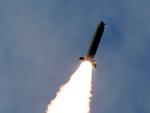 North Korean heavy artillery rocket system