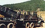 Kooryong MLRS reloading