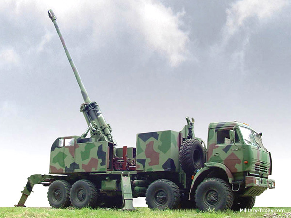 Top 10 truck-mounted artillery systems
