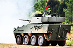 Pandur II 105-mm fire support vehicle