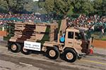 Pinaka reloading vehicle