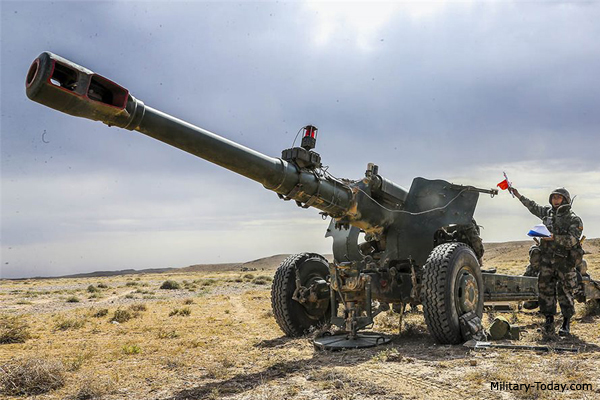 PL-66 152 mm Towed Howitzer | ...