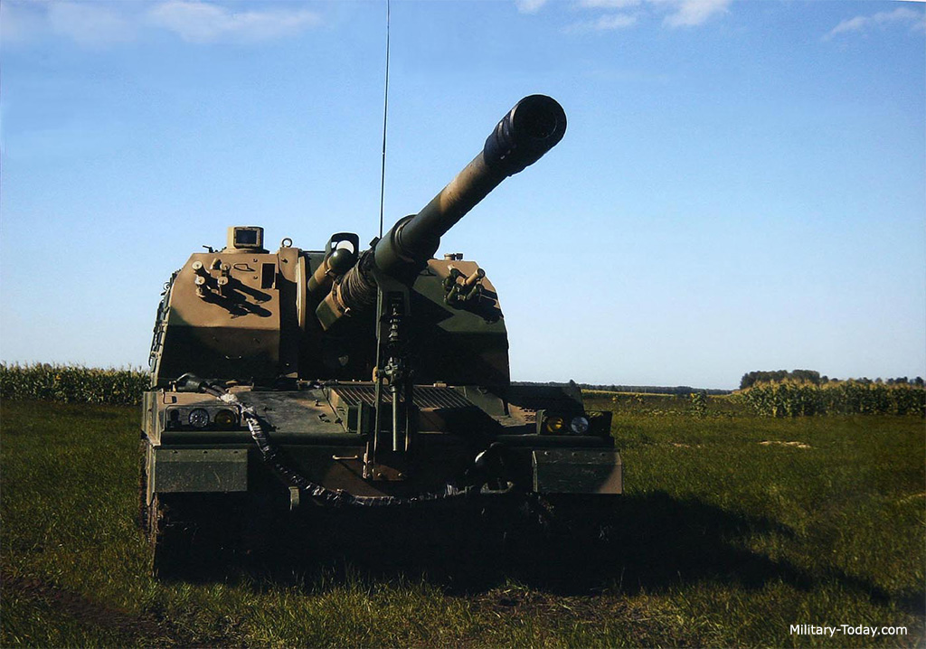 systèmes d'artilleries autotractés et autopropulsés Plz05_l1