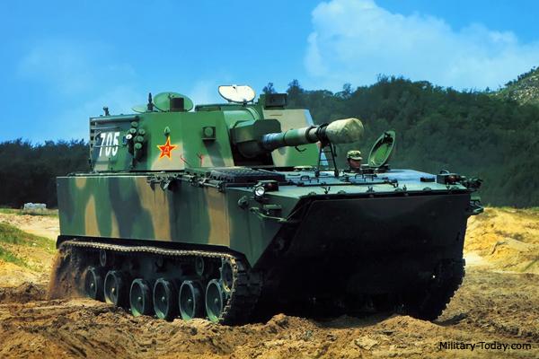 PLZ-07B howitzer