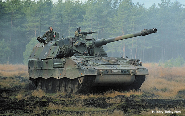 Best self-propelled howitzers