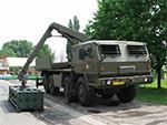 Reloading vehicle of the RM-70 Modular MLRS