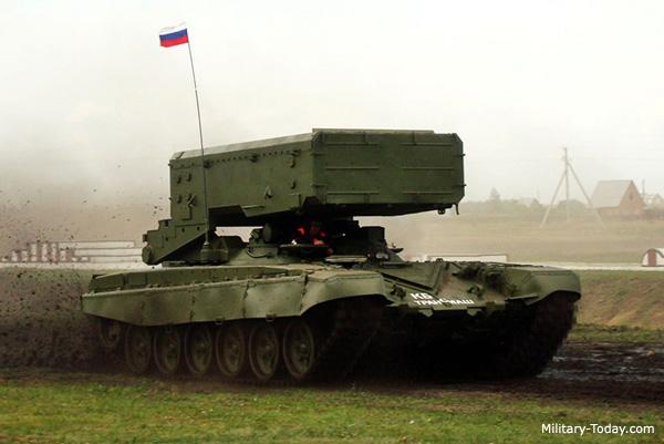 قاذفات الصواريخ الروسية ! Tos_1a