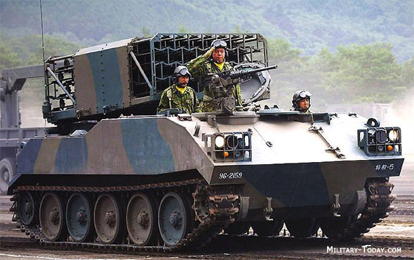Type 75 Multiple Launch Rocket System | Military-Today com