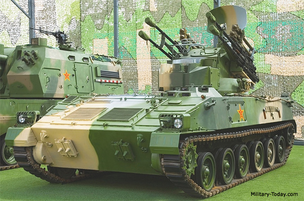 Chinese-made SAM systems Type_95_spaag