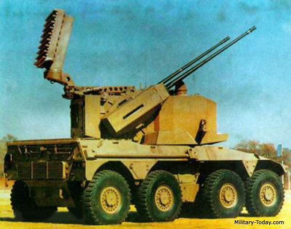 Za 35 Prototype Self Propelled Anti Aircraft Gun