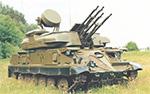ZSU-23-4 Shilka SPAAG