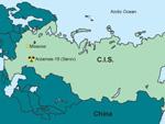 Location of Arzamas-16 (Sarov) secret city
