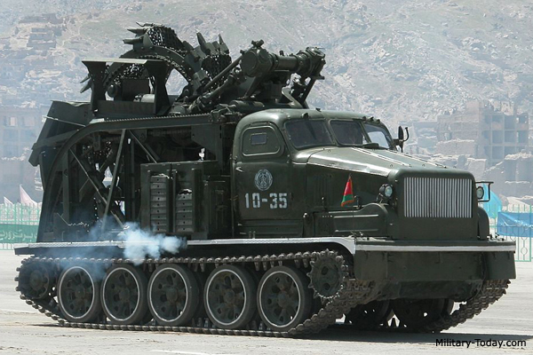 BTM-3 Trenching Machine   Mili...
