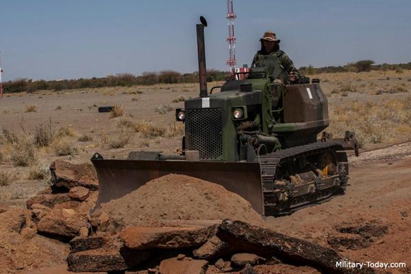 Caterpillar D3 Bulldozer | Military-Today com