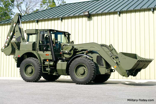 Hmee Backhoe Loader Military Today Com