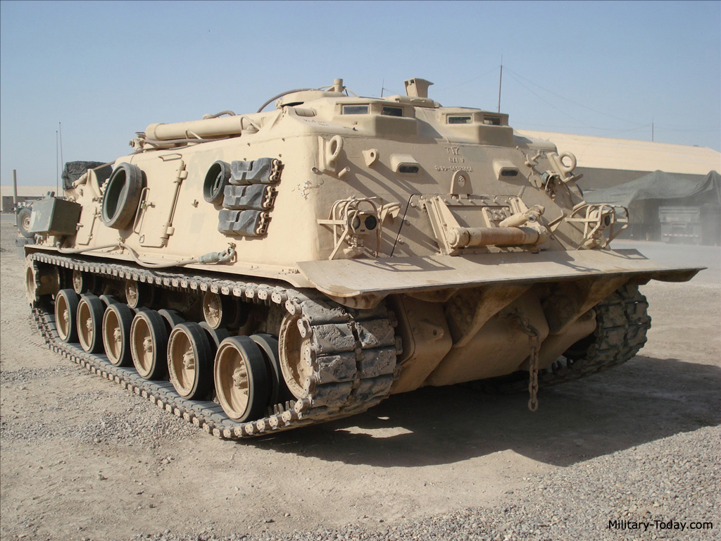 Armored Vehicles For Sale >> M88 Armored Recovery Vehicle | Military-Today.com