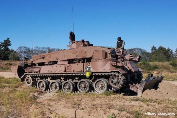 Vulcain armored engineer vehicle