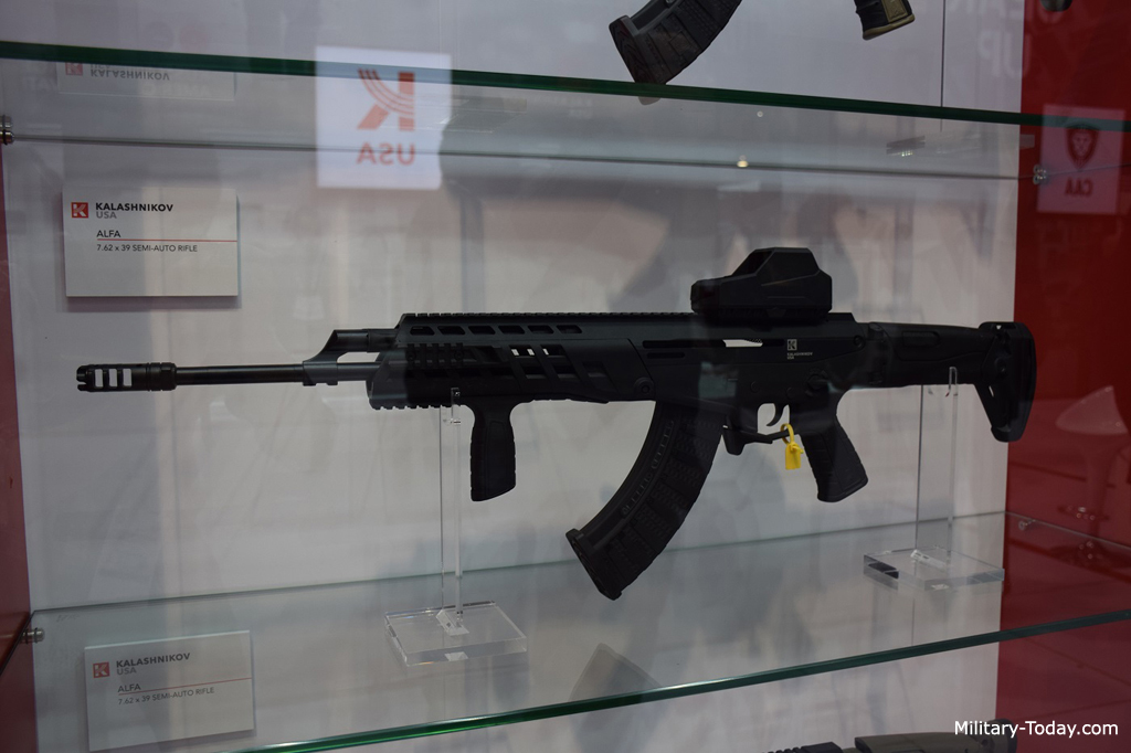 Alfa semi-automatic rifle