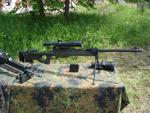 Arctic Warfare Magnum sniper rifle