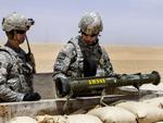 AT4 anti-tank weapon