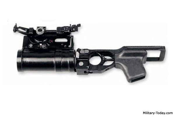 GP-25 grenade launcher