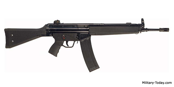 HK33 assault rifle