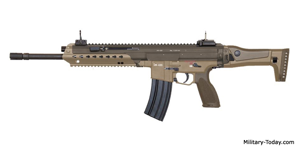 Heckler & Koch HK433 Assault Rifle | Military-Today com