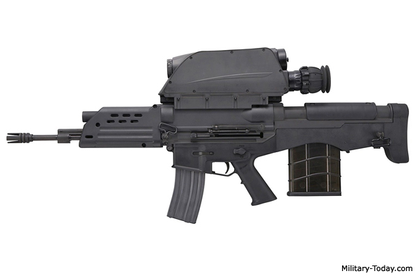 K11 Assault Rifle with Integrated Grenade Launcher | Military-Today com