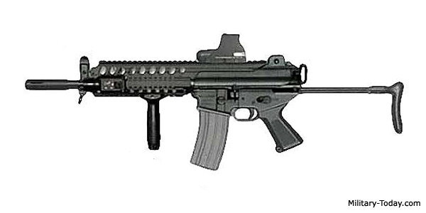 K1A Compact ault Rifle | Military-Today.com