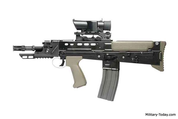 L22A2 weapon