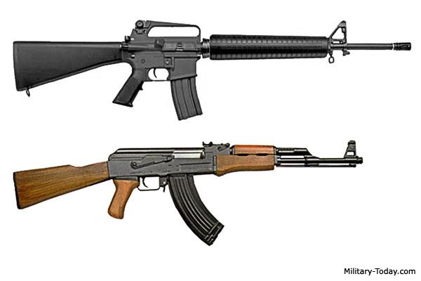 M16 vs AK-47