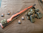 M1 Garand self-loading rifle