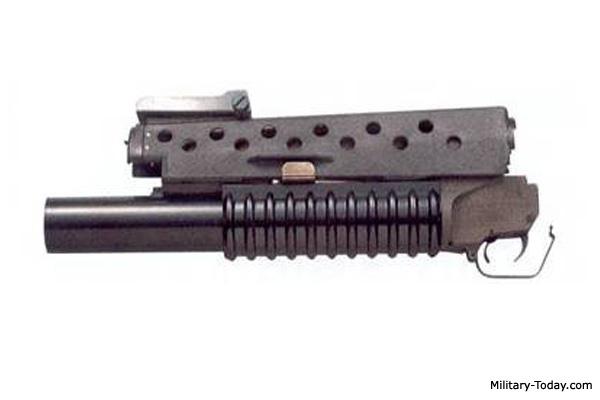 M203 Underbarrel Grenade Launcher | Military-Today com