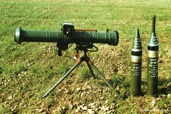 PF-98 anti-tank rocket launcher
