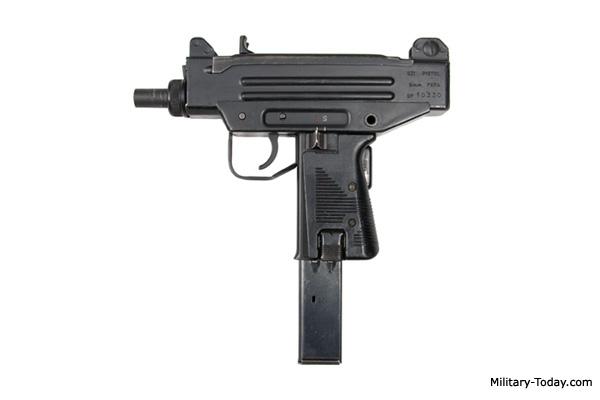 Uzi pistol