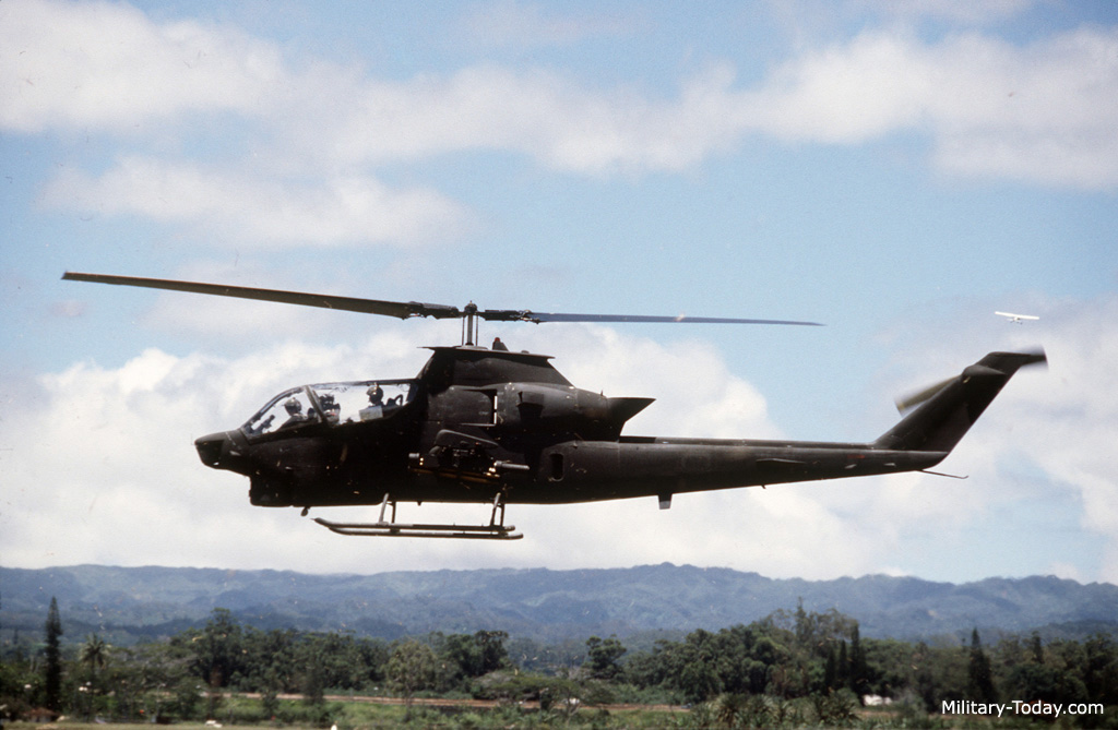 AH-1W Cobra Helicopter