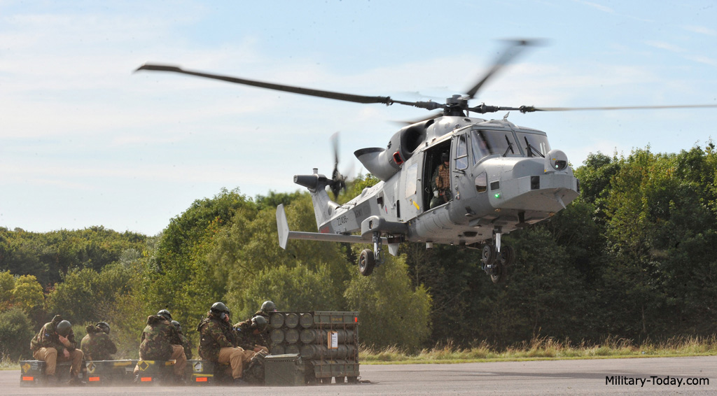 AW159 Wildcat helicopter