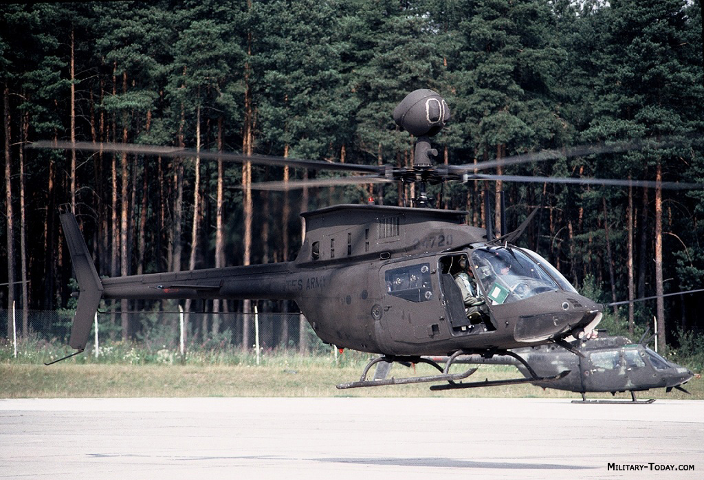 OH-58 Kiowa helicopter